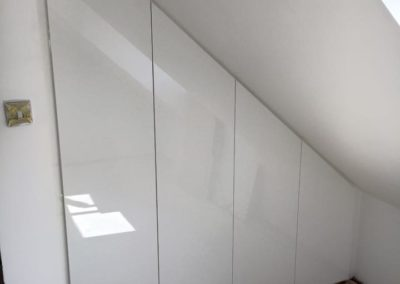 Slanted ceiling Fitted Wardrobe The Sliding Wardrobe Company | Kent | Essex | East Sussex