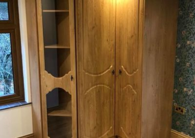 Corner Fitted Cupboard The Sliding Wardrobe Company | Kent | Essex | East Sussex