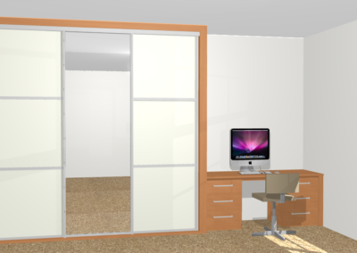 Bespoke Wardrobe and Desk Design The Sliding Wardrobe Company | Kent | Essex | East Sussex