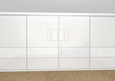 design of wall length wardrobe The Sliding Wardrobe Company | Kent | Essex | East Sussex