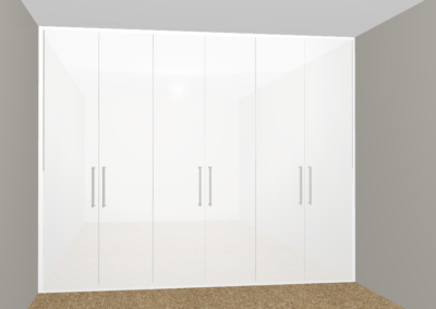 White Wardrobe Design The Sliding Wardrobe Company | Kent | Essex | East Sussex