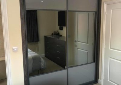 Small grey wardrobe | The Sliding Wardrobe Company | Kent | Essex | East Sussex